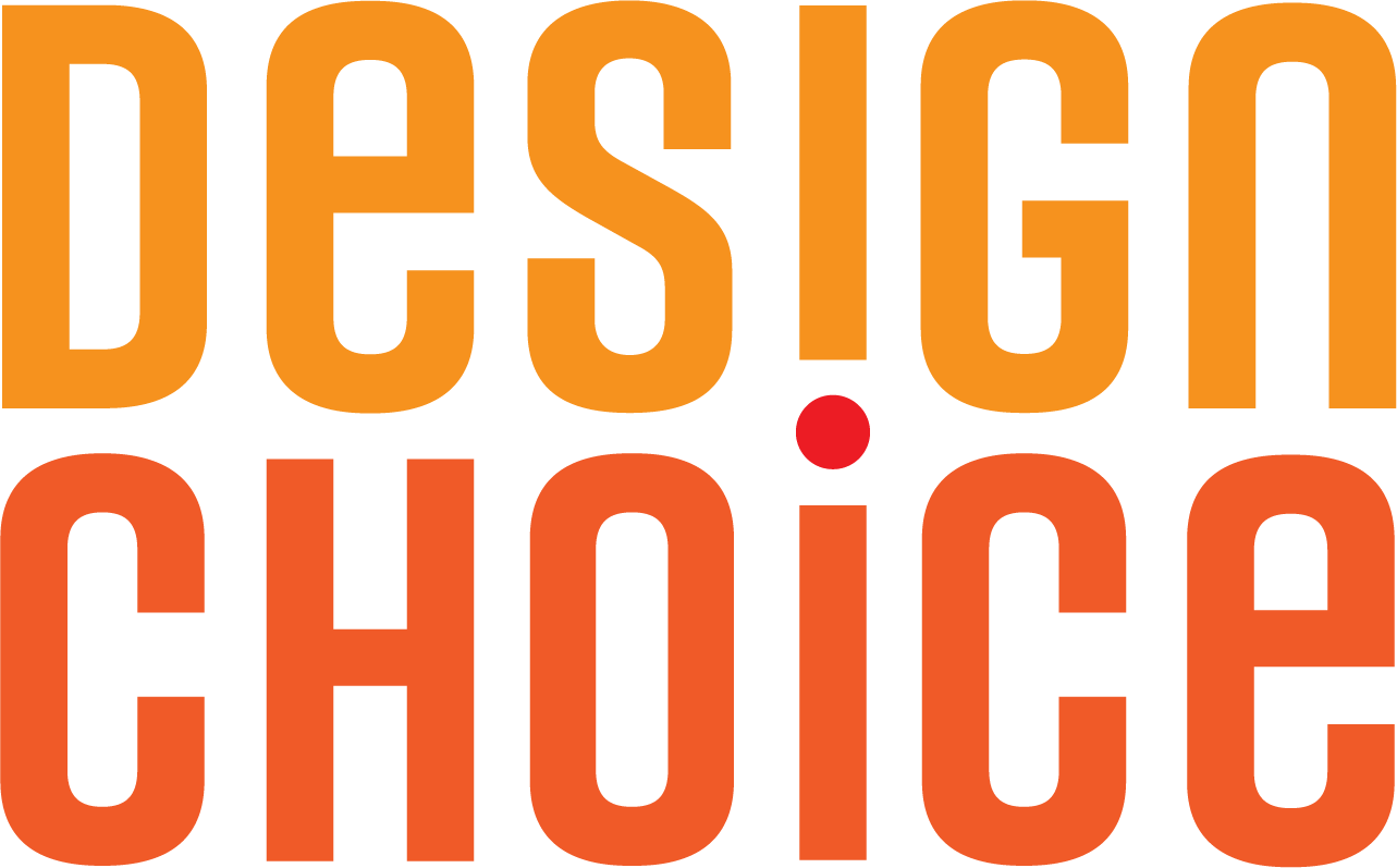 Design Choice is a graphic design studio in Washington, DC. The Design Choice logo consists of the words